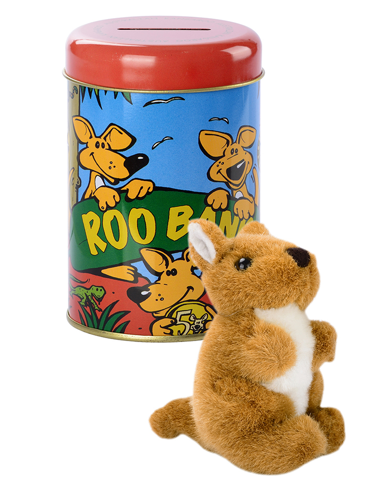 Roo Bank + Soft toy – web